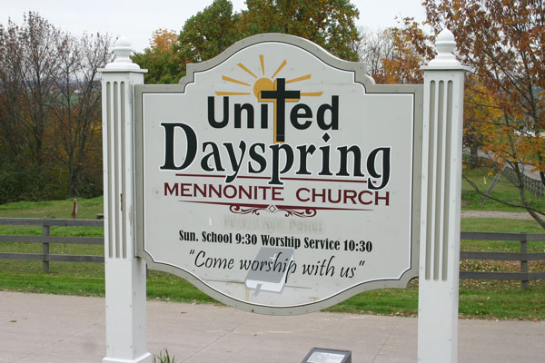 United Dayspring Mennonite Church | Ohio Amish Country